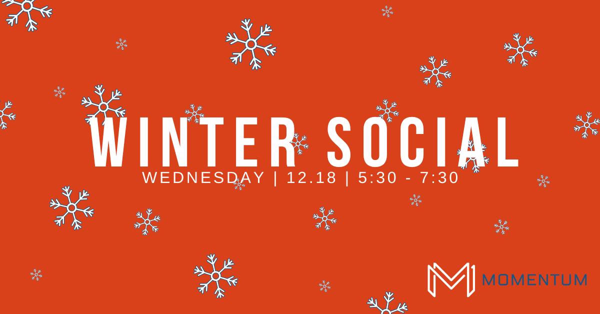 2019 Momentum Winter Social