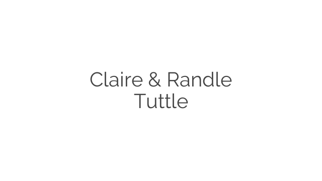 Claire & Randle Tuttle