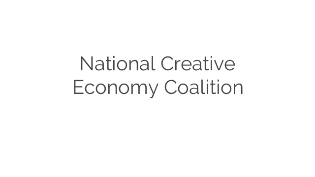 National Creative Economy Coalition